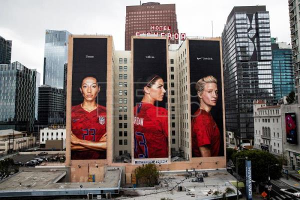 NIKE advertisement in Los Angeles