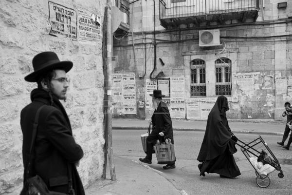 The ultra Orthodox Jewish sect where women cover themselves from head to toe