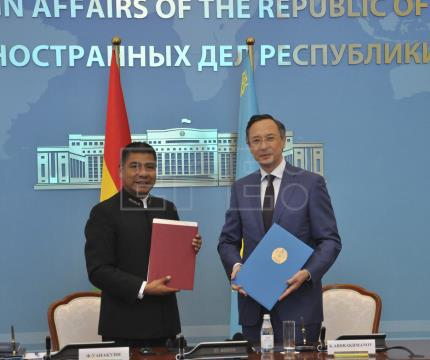 Bolivia, Kazakhstan agree to expand cooperation