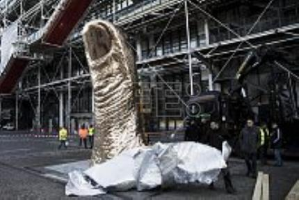 France's Pompidou Center gives César a thumbs-up with special retrospective