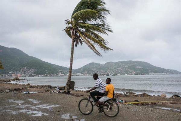 Haiti spared the worst of Hurricane Irma, but still wary of flooding