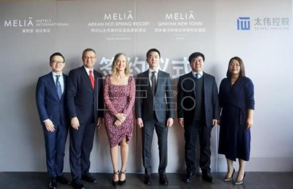 Meliá Hotels International anuncia la firma de dos nuevos hoteles en China