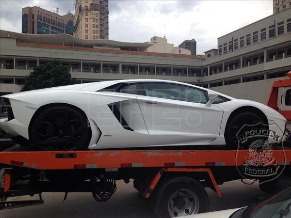 Brazil authorities seize luxury autos, other assets from