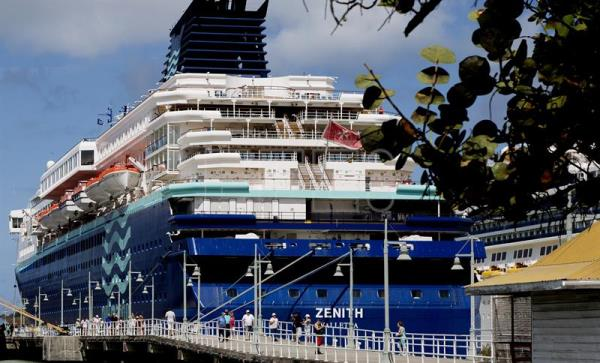 Remodeled Cruise Ship Zenith With Spain S Pullmantur
