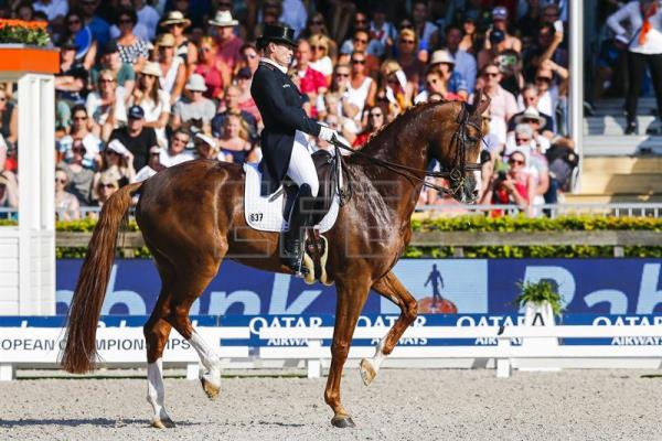 Holland is top medalwinner at Euro Equestrian Championship