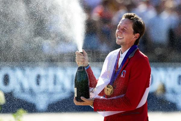 Fuchs becomes European Equestrian Show Jumping Champion