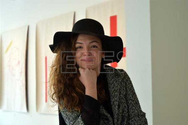 Cuban filmmaker and screenwriter Vanessa Batista, seen here in Miami on Jan. 19, 2018, for the screening of her documentary the next day about some Catalans who emigrated to Cuba and never returned to their native land, but in the process she came upon some authentic film relics that changed everything. EFE-EPA/Jorge I. Perez