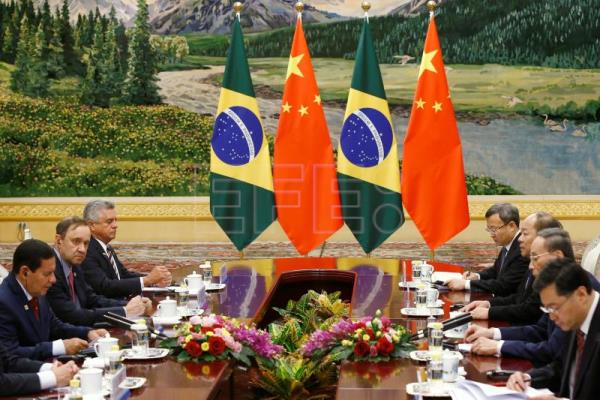 China, Brazil agree to boost trade, cooperation