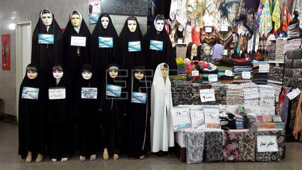 Iran's chador cloak tailored to women of all tastes, social classes