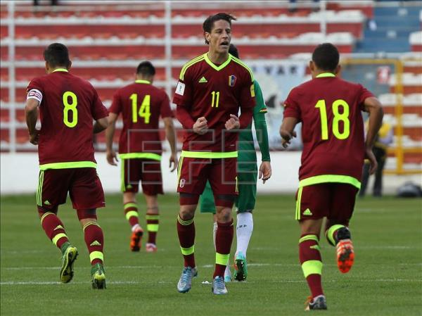 Venezuelan national soccer team quits