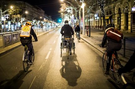 Budapest Bike Maffia: A team of charitable cyclists help Hungary's homeless