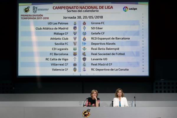 Calendario Liga Primera Division.El Clasico Dates Are Out As La Liga Announces 2017 2018 Fixtures