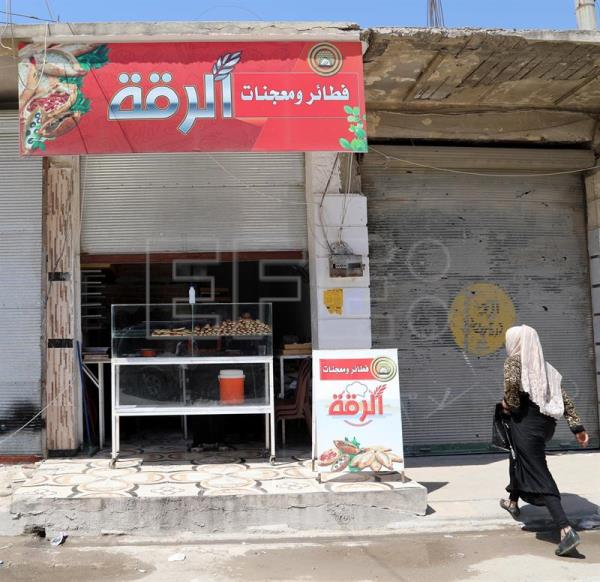 SYRIA-WIDOWS BAKERY IN RAQQA