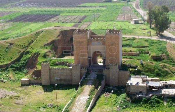 Nineveh, the ancient Assyrian capital reduced to rubble by ...