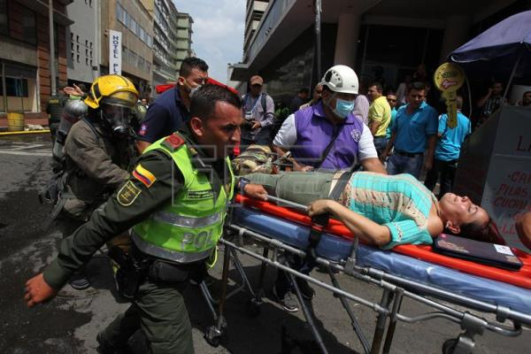 Explosion rocks prosecutor's office in Colombia's third city