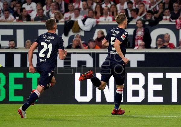 Union Berlin edge closer to Bundesliga with 2-2 draw against