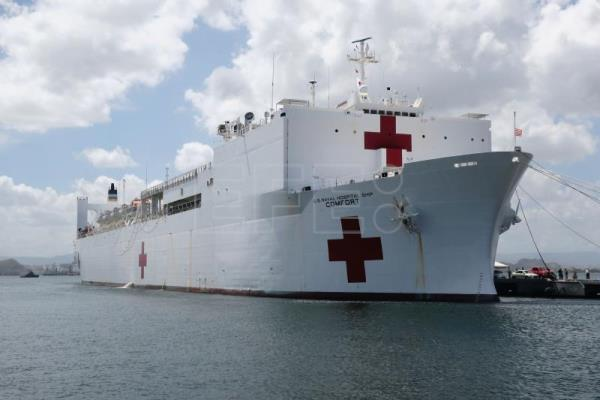 US hospital ship to assist 11 countries in response to Venezuelan crisis