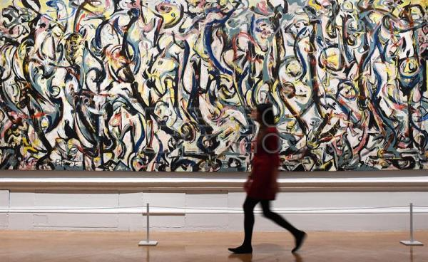 London 39 s royal academy to showcase abstract expressionist for Jackson 5 mural