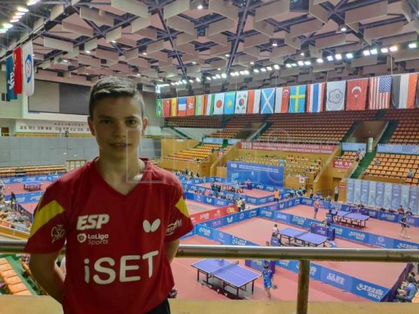 Daniel Berzosa presente en el ITTF Junior Circuit Golden China Open 2019