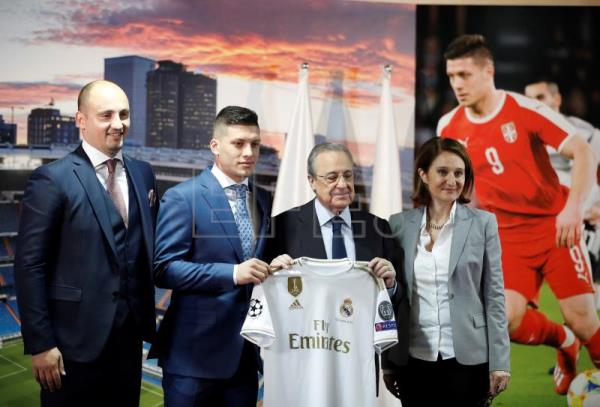 Jovic proud of joining Real Madrid, wants to win Champions League