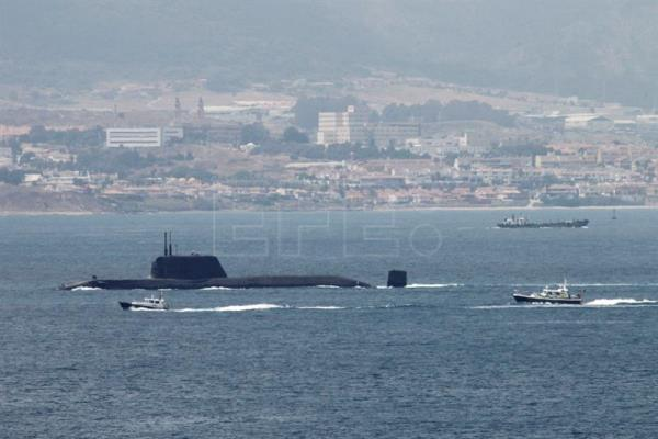British nuclear submarine leaves Gibraltar to be repaired in