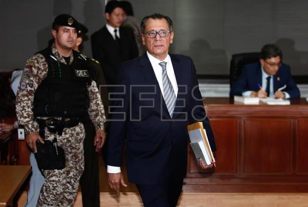 Ecuador former VP pursues appeal of corruption conviction