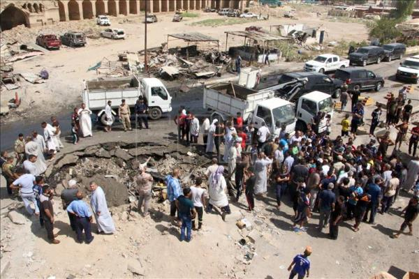 100 Die in IS attack on Iraqi market