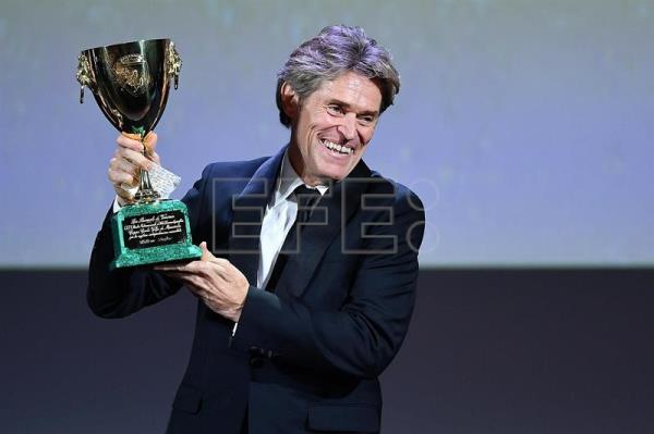 El actor Willem Dafoe gana la Copa Volpi de Venecia al mejor actor