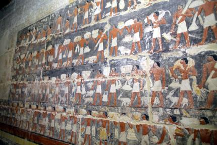 Tomb of powerful ancient Egyptian vizier displayed for first time