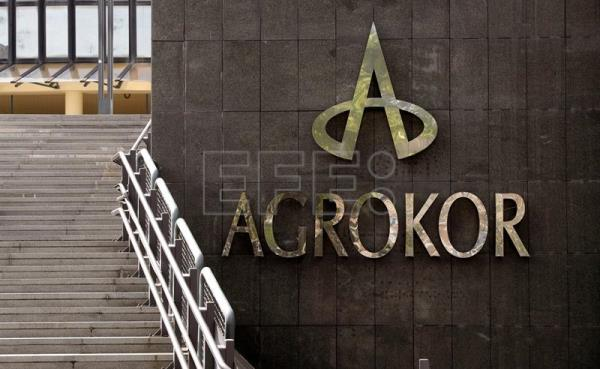 Archive image of the Croatian food group Agrokor HQ in Zagreb, Apr. 12, 2017. EPA/ANTONIO BAT