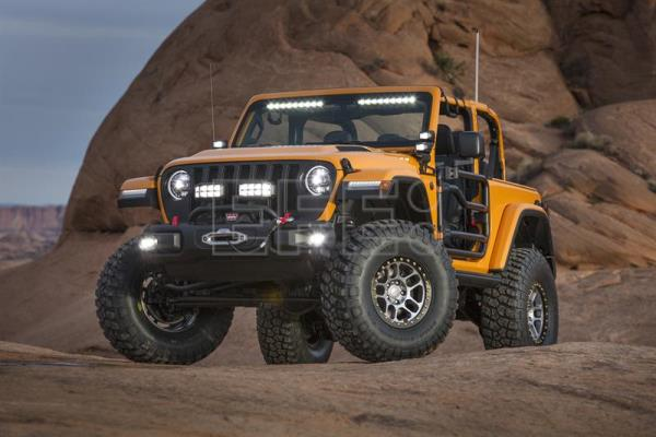 Undated photo showing a Jeep Nacho created by Mopar, a Fiat Chrysler (FCA) component and accessories manufacturer. EPA-EFE/Jeep