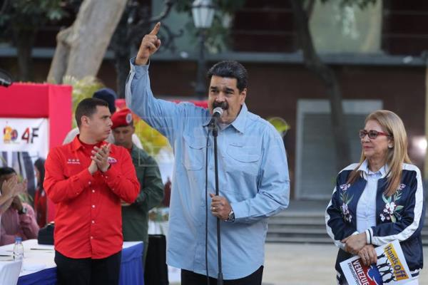 Maduro thanks for marches that invite to sign letter rejecting US interference in Venezuela