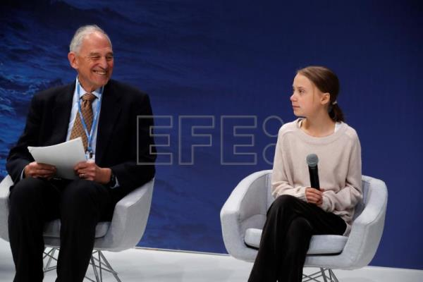 Adults must be educated on climate as much as children, Thunberg says