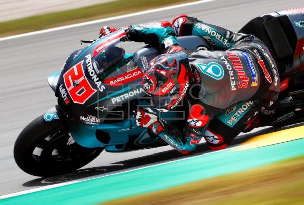 Quartararo leads after 1st day of free practice in Catalonia, Marquez 9th