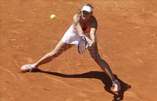 Sharapova breezes through to 3rd round of Madrid Open