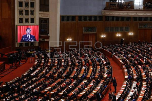 China's legislature approves $3.3 trillion budget for 2018