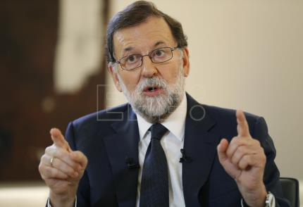 "Rajoy: ""We will not allow Catalan independence"""