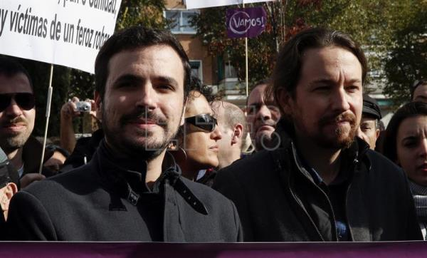 Hundreds of Spaniards protest against rampant energy poverty