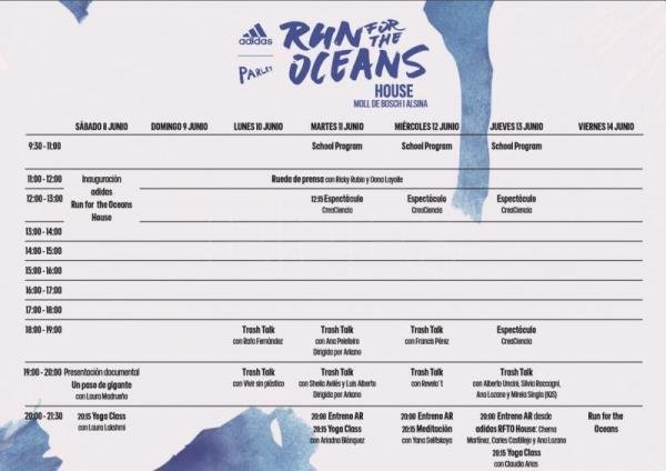 Ricky Rubio y Ana Peleteiro, presentes en 'Run for the Oceans'