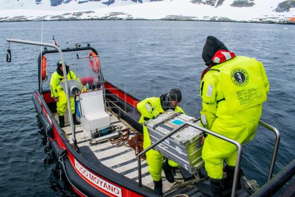 Chilean experts assess climate change impacts on Antarctic marine systems