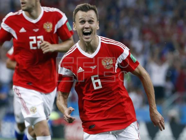 Cheryshev leads Russia to sink Kazakhstan 4-0 in Euro qualifiers