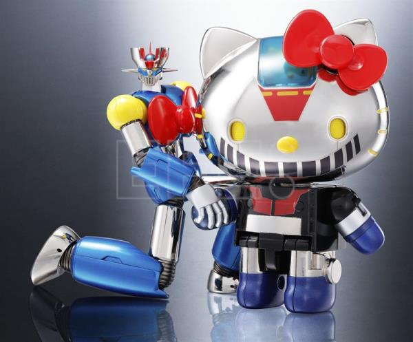 695323303 Hello Kitty and Mazinger Z team up to boost Japanese toy industry ...