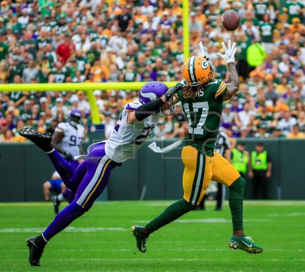 21-16. Rodgers y Packers siguen dominando a los Vikings