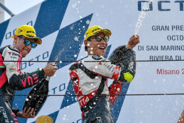 Suzuki earns his maiden Moto3 victory at San Marino