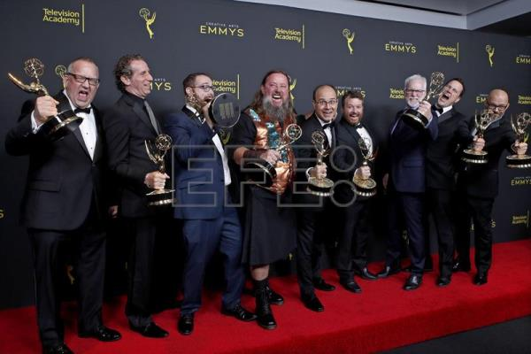 2019 Creative Arts Emmy Awards - Press Room