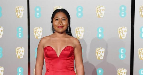 BRITAIN BAFTA AWARDS 2019:epa07360927 Mexican actress Yalitza Aparicio attends the 72nd annual British Academy Film Awards at the Royal Albert Hall in London, Britain, 10 February 2019. The ceremony is hosted by the British Academy of Film and Television Arts (BAFTA). EPA/NEIL HALL
