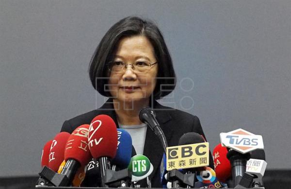 Taiwan president to seek re-election in 2020
