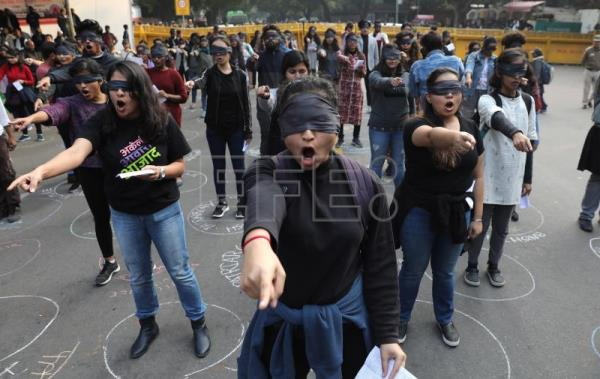 India adapts Chile's feminist protest song amid rapes, deaths