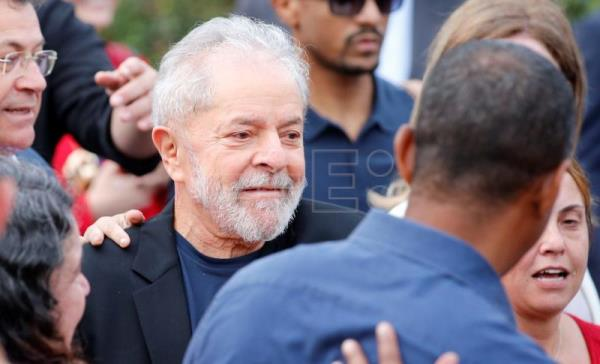Brazil's Lula released from prison following Supreme Court ruling
