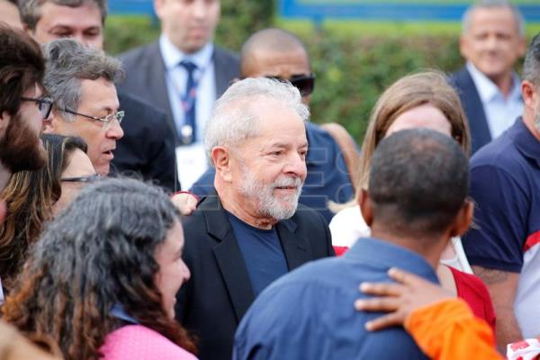 Lula Leaves prison 1 year and 7 months later